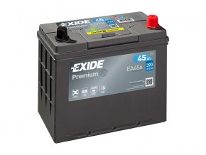 Autobaterie EXIDE PREMIUM 45Ah, 12V, EA456