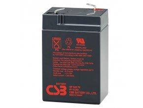 Batéria CSB GP645, 6V, 4,5Ah