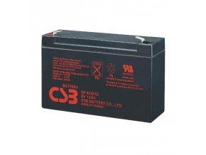 Batéria CSB GP6120 F2, 12Ah, 6V