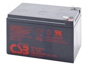 Batéria CSB GP12120 F2, 12Ah, 12V