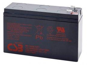 Batéria CSB HR1224W F2F1, 12V, 6,4Ah