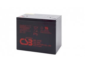 Batéria CSB GPL12750, 75Ah, 12V