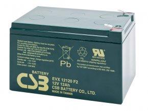 Batéria CSB EVX12120 F2, 12Ah, 12V