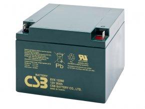 Batéria CSB EVX12260, 26Ah, 12V
