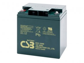 Batéria CSB EVX12300, 30Ah, 12V