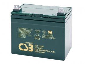 Batéria CSB EVX12340, 34Ah, 12V