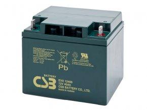 Batéria CSB EVX12400, 40Ah, 12V