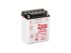 Motobaterie YUASA (originál) YB14-A2, 12V,  14Ah