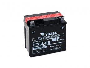 Motobaterie YUASA (originál) YTX5L-BS, 12V,  4Ah