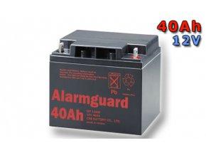 Staniční (záložní) baterie ALARMGUARD CJ12-40, 40Ah, 12V