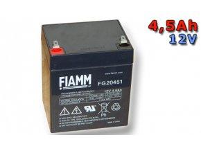 Olověný akumulátor Fiamm FG20451 4,5Ah 12V (VRLA)