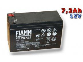 Olověný akumulátor Fiamm FG20722 7,2Ah 12V (VRLA)