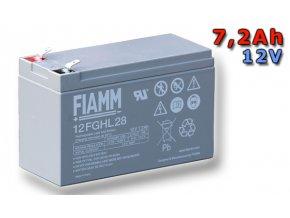 Olověný akumulátor FIAMM 12FGHL28 7,2Ah 12V (VRLA)