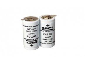 Baterie pro nouzová světla, osvětlení SAFT 2,4V 1600mAh vysokoteplotní (2SBSVTCs)