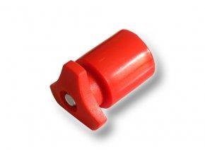 Akusvorka rychloupínací - francouzská, červená, pro plus pól