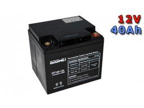 Trakčná (GEL) baterie GOOWEI ENERGY OTL40-12, 40Ah, 12V