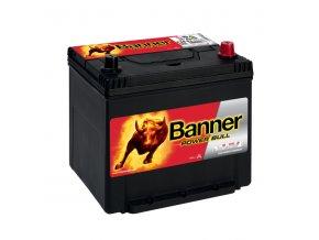 Autobaterie Banner Power Bull P60 62, 60Ah, 12V ( P60 62 )