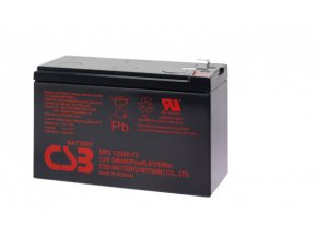 Baterie CSB UPS12580 F2, 12V - 9Ah, (vysokozátěžová)