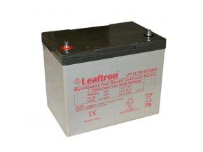 Trakčná (AGM) batérie Leaftron LTC75-12, 75 Ah, 12V