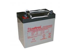 Trakčná (AGM) batérie Leaftron LTC55-12, 55 Ah, 12V