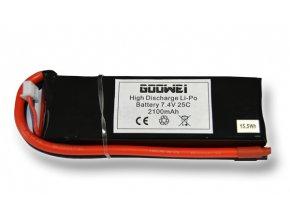 Baterie pro RC modely - 803496, 2100mAh, 7.4V, Li-po, 25C