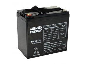 Trakční (GEL) baterie Goowei OTL55-12, 55Ah, 12V