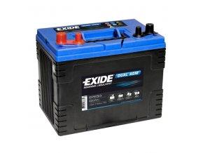 Baterie EXIDE DUAL AGM 75Ah, 12V, EP650 (EP 650)