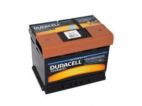 Autobaterie Duracell Advanced DA 62H, 62Ah, 12V ( DA62H )