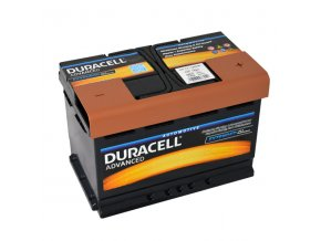 Autobaterie Duracell Advanced DA 74, 74Ah, 12V ( DA74 )