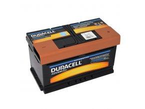 Autobaterie Duracell Advanced DA 80, 80Ah, 12V ( DA80 )
