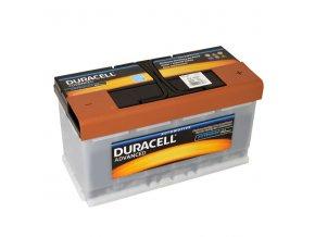 Autobaterie Duracell Advanced DA 100, 100Ah, 12V ( DA100 )