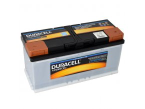 Autobaterie Duracell Advanced DA 110, 110Ah, 12V ( DA110)
