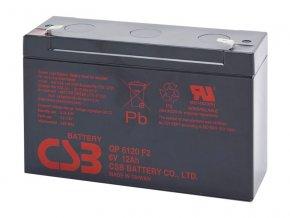 Batéria CSB GP6120 F2, 6V, 12Ah