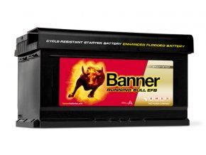 Autobaterie Banner Running Bull EFB 575 12, 75Ah, 12V ( 57512 )