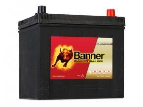 Autobaterie Banner Running Bull EFB 565 15, 65Ah, 12V ( 56515 )