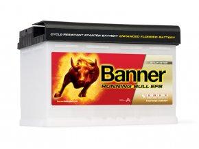 Autobaterie Banner Running Bull EFB 570 11, 70Ah, 12V ( 57011 )