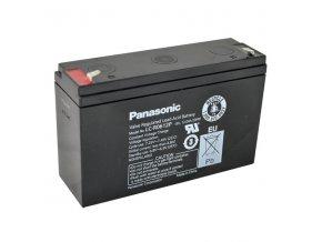 Staniční (záložní) baterie PANASONIC LC-R0612P, 12Ah, 6V