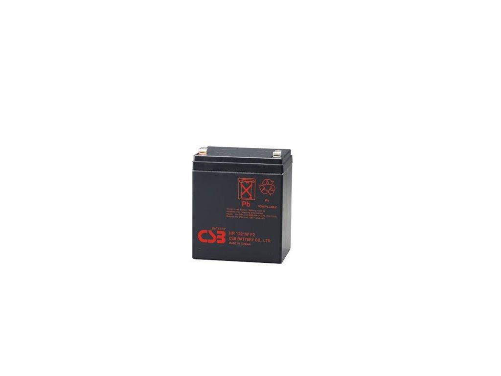APC RBC30, alternativa bez příslušenství (1ks CSB HR1221W F2)