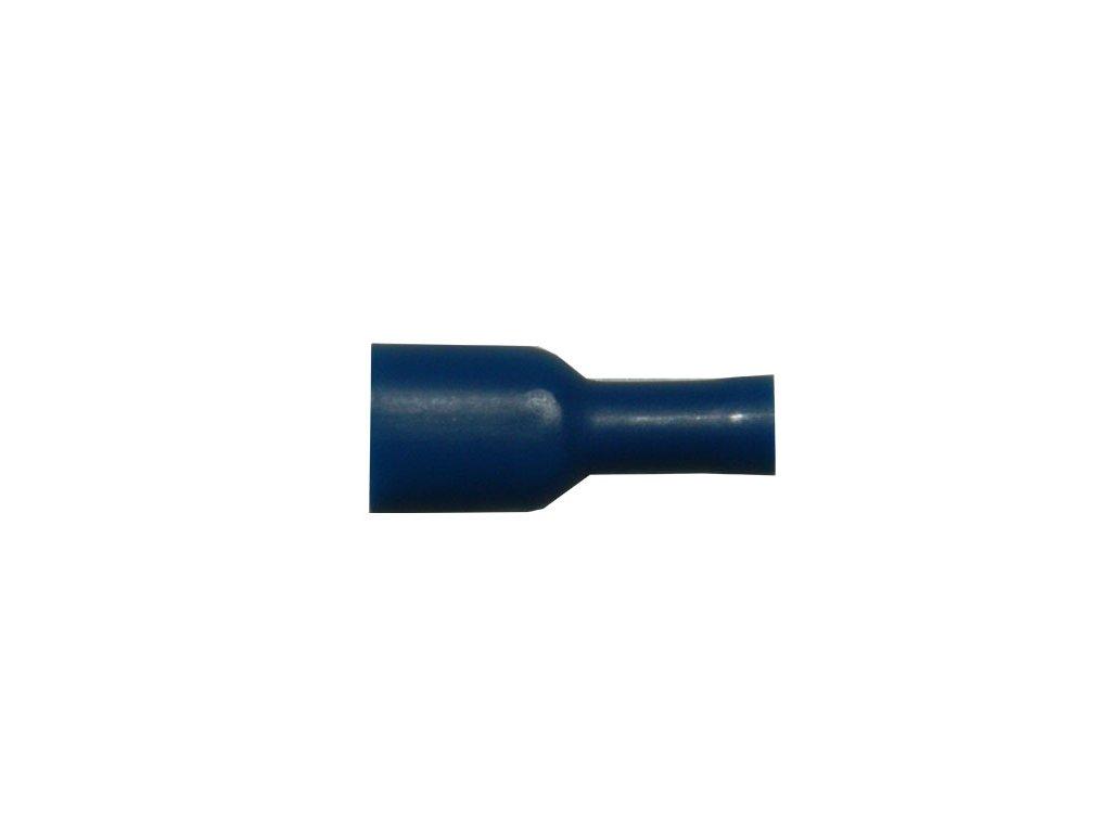 Faston zásuvka FH2250BL 6,3x0,8 mm; 1,5-2,5 mm2; plný modrý
