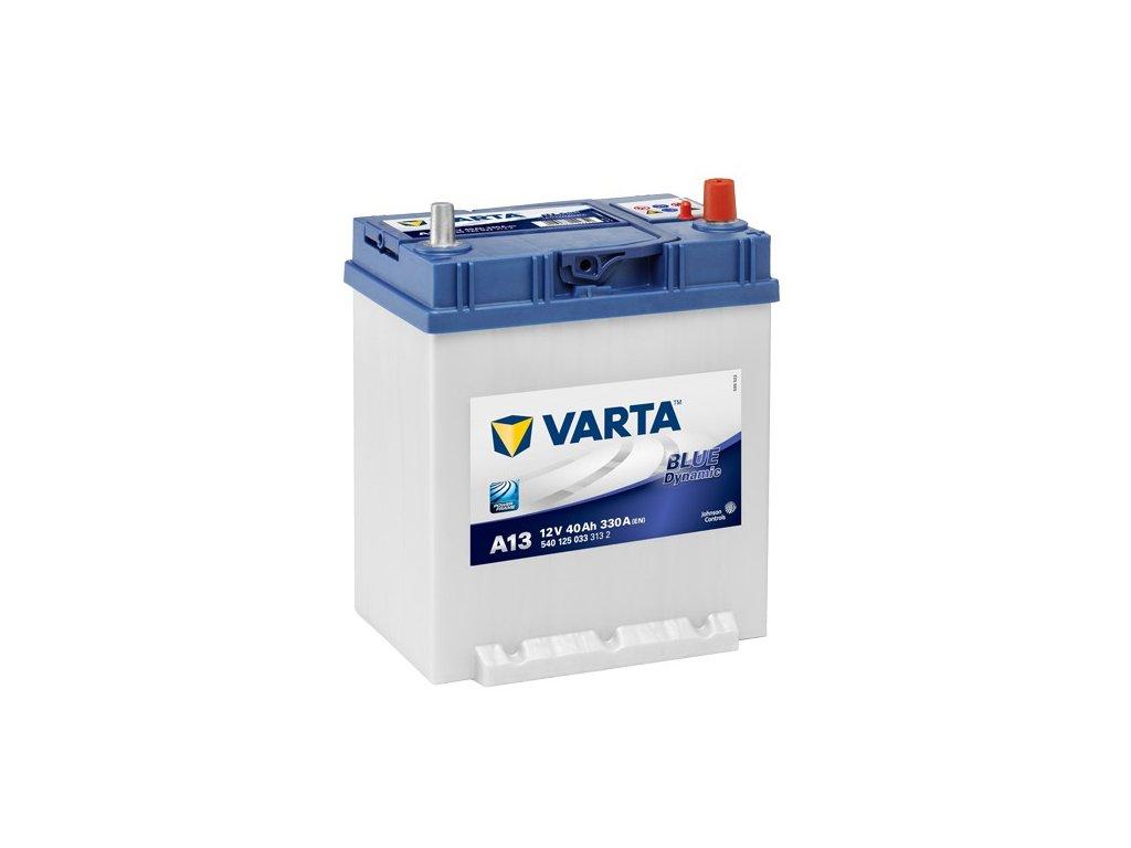 Autobaterie VARTA BLUE Dynamic 40Ah, 12V, A13