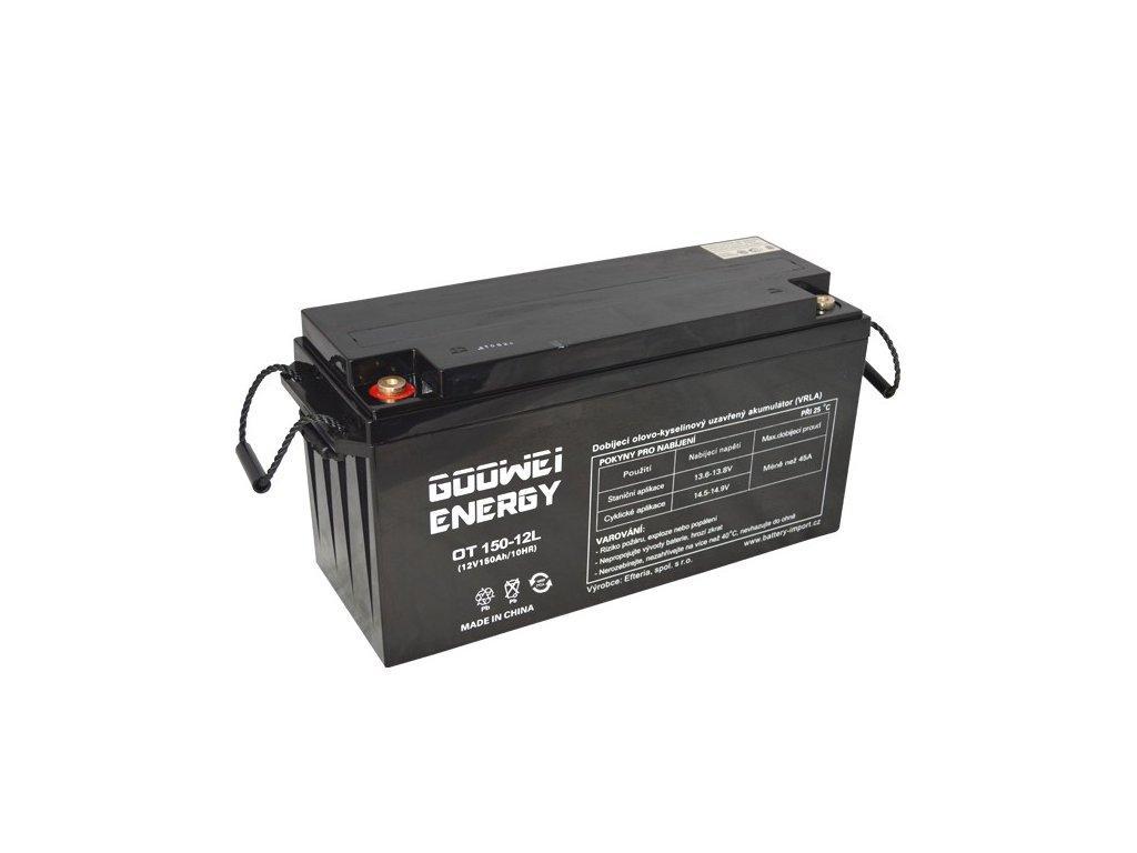 Trakční (GEL) baterie GOOWEI ENERGY OTL150-12, 150Ah, 12V
