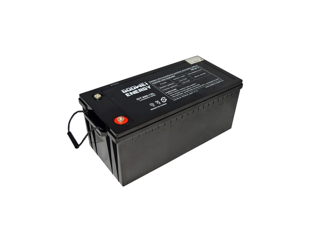 Trakční (GEL) baterie GOOWEI ENERGY OTL200-12, 200Ah, 12V