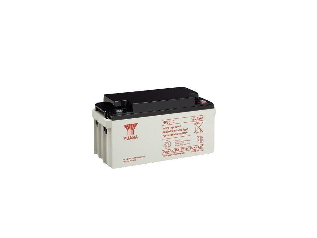 Staniční (záložní) baterie YUASA NP65-12,  65Ah, 12V