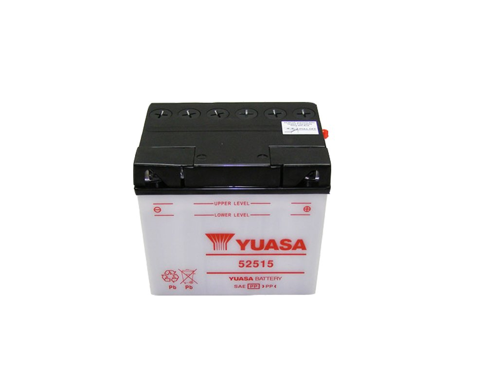 Motobaterie YUASA (originál) 52515, 12V,  25Ah