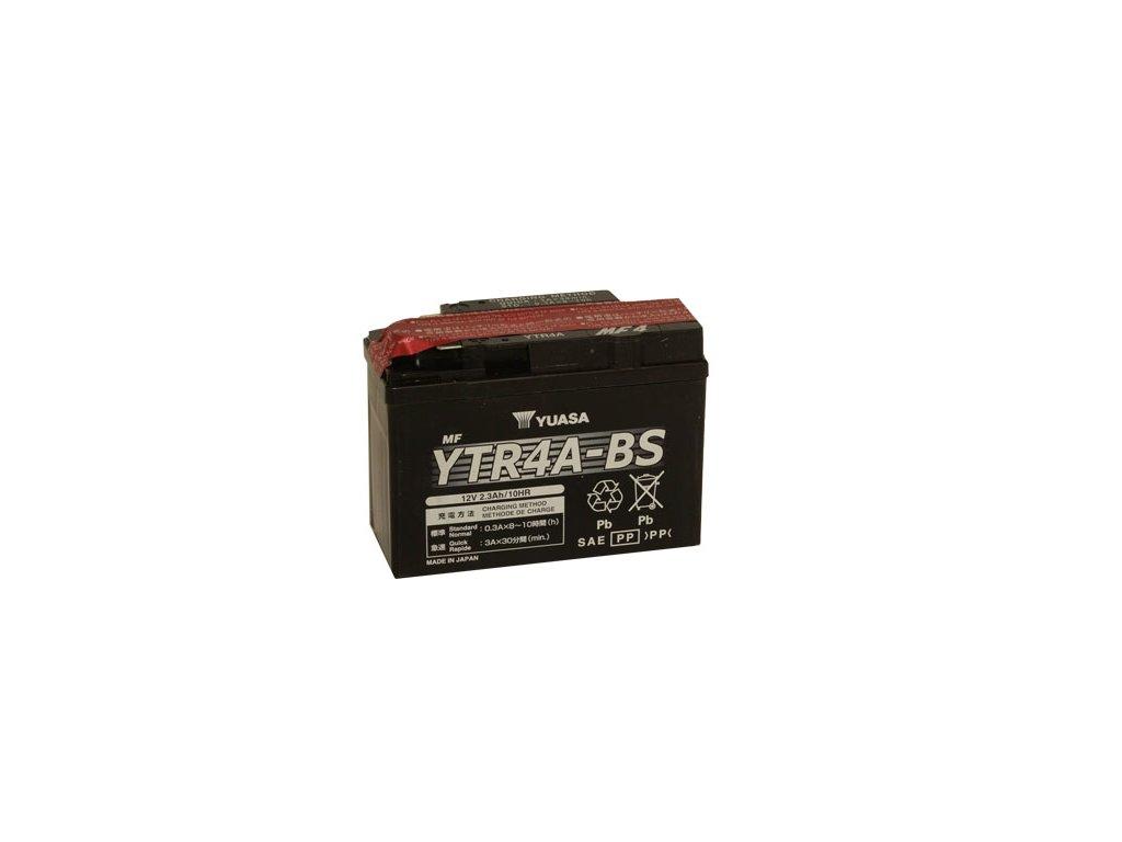 Motobaterie YUASA (originál) YTR4A-BS, 12V,  2,3Ah