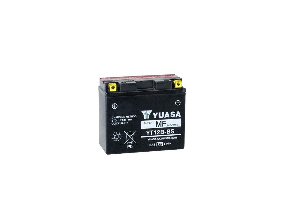Motobaterie YUASA (originál) YT12B-BS, 12V,  10Ah