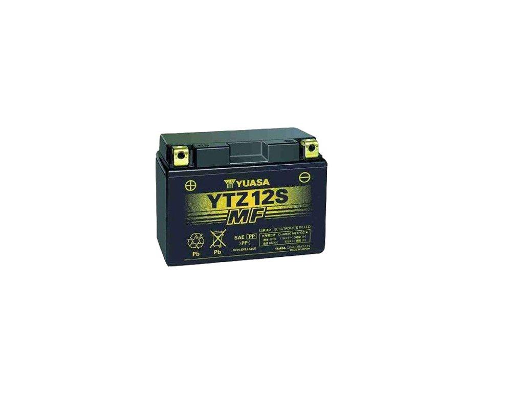 Motobaterie YUASA (originál, factory activated) YTZ12S, 12V,  11Ah
