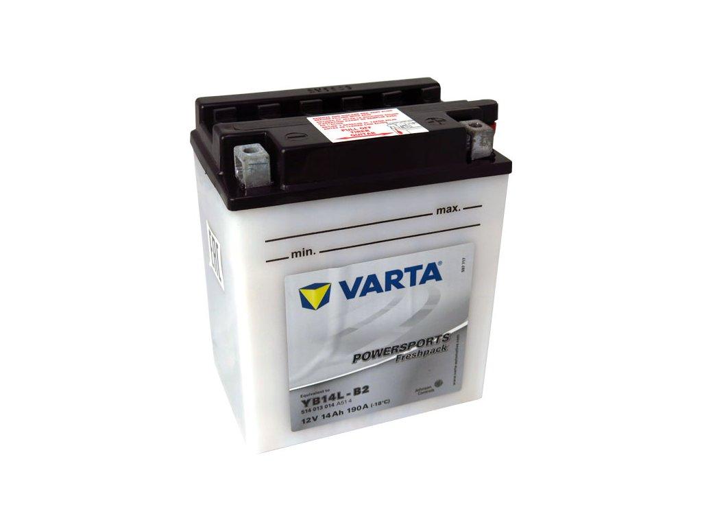Motobaterie VARTA  YB14L-B2, 14Ah, 12V