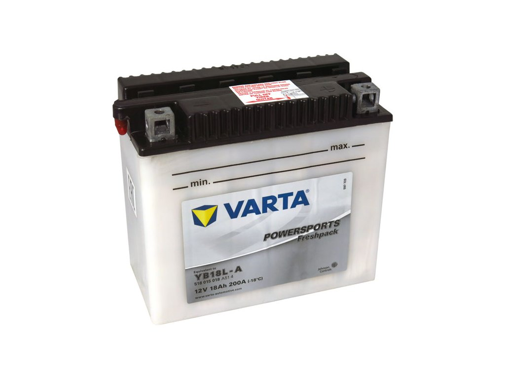 Motobaterie VARTA  YB18L-A, 18Ah, 12V
