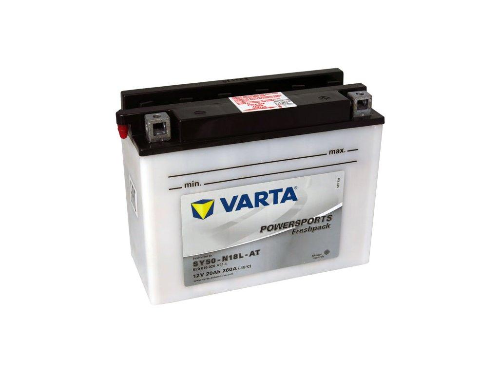 Motobaterie VARTA  SY50-N18L-AT, 20Ah, 12V